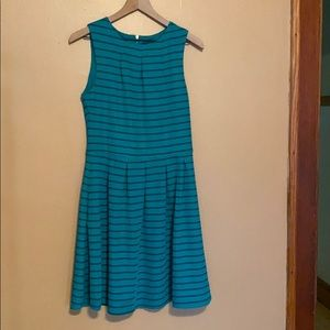 Mossimo for Target Blue and Gray Dress